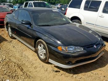 Salvage Chevrolet Monte Carlos For Sale